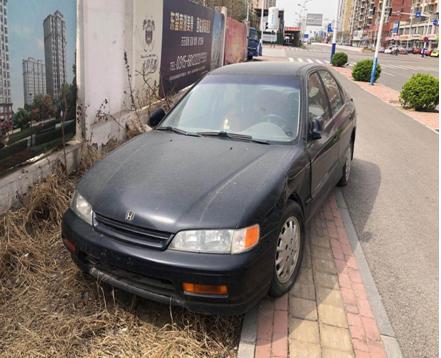 唐山市中心区开展专项行动,清理这类车!
