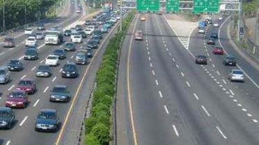 事故影响,京哈高速北京方向迁安段缓行约4公里