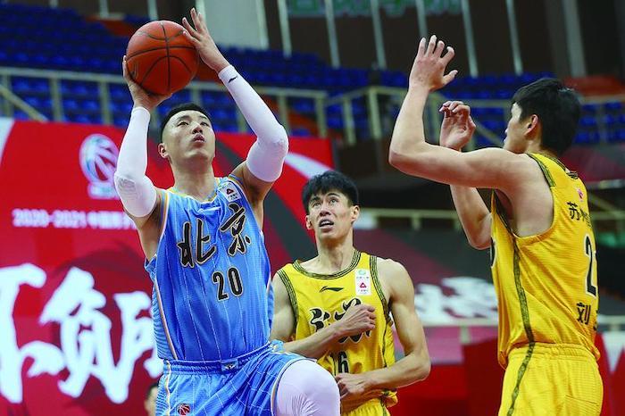 北京首钢男篮队长、唐山籍篮球名将翟晓川:全力以赴 就不会有遗憾