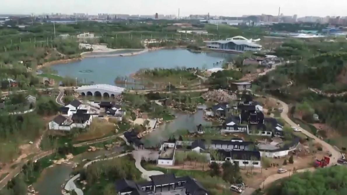省园博会绿化工程建设基本完工