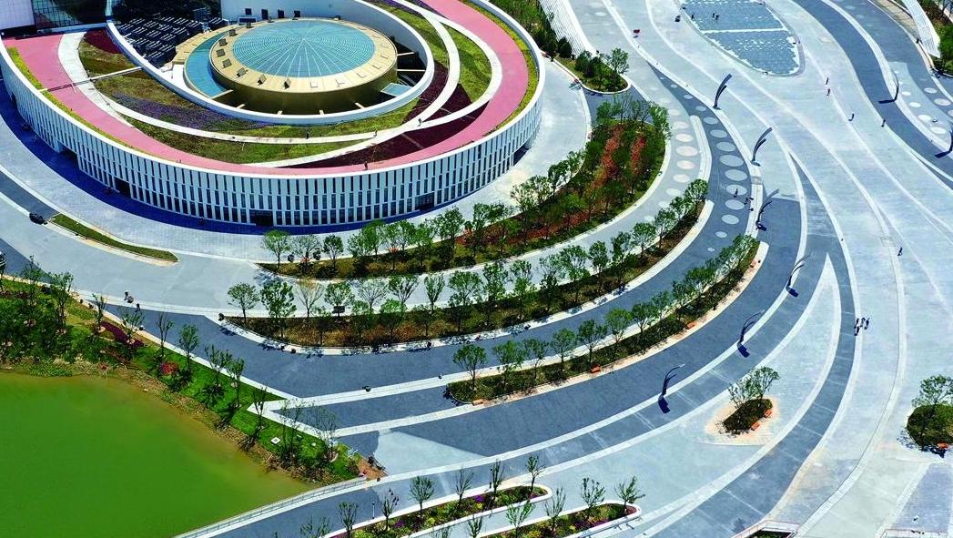 园博会三大主展馆凸显唐山城市时代特色