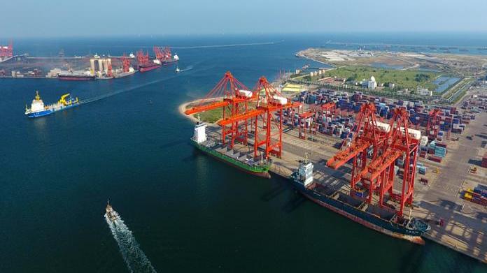 唐山港成全球沿海第二大港