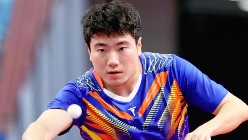 唐山选手梁靖崑全运会乒乓球男单比赛获得铜牌